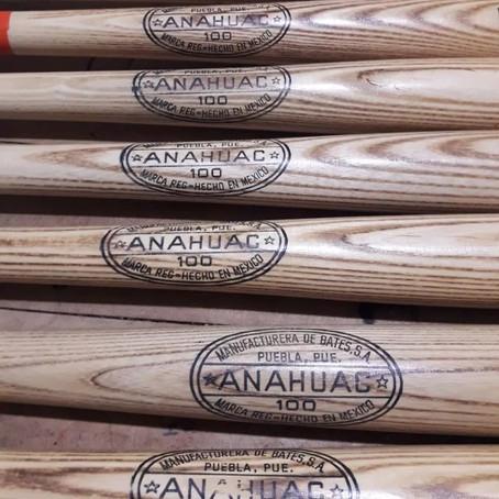 Bat Anáhuac de beisbol madera fresno: Legendario