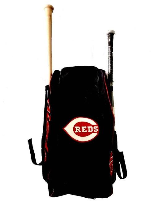 Batera Maleta Backpack Cincinnati Reds Negra
