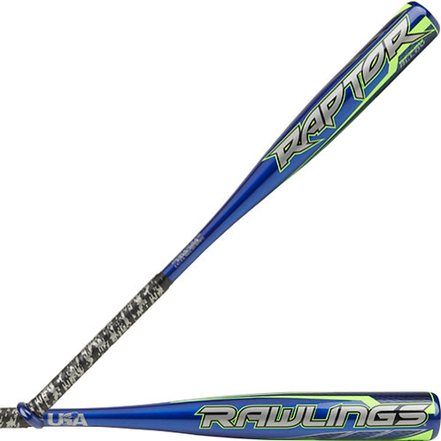BAT RAWLINGS RAPTOR 27x17oz -10oz BARRIL 2 1/4 USA BAT