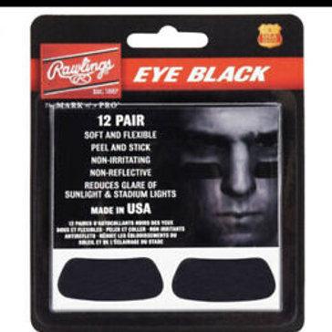 EYE BLACK STICKERS RAWLINGS 12 PARES