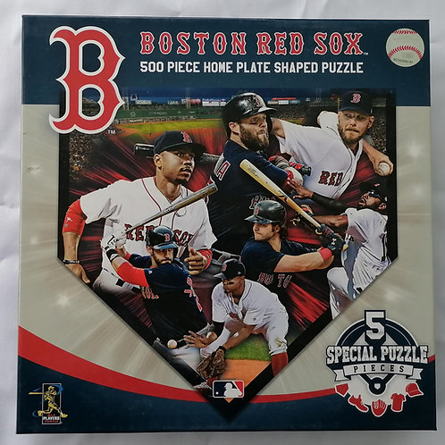 BOSTON RED SOX ROMPECABEZAS 500 PIEZAS MEDIAS ROJAS