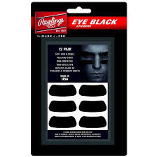 EYE BLACK STICKERS RAWLINGS