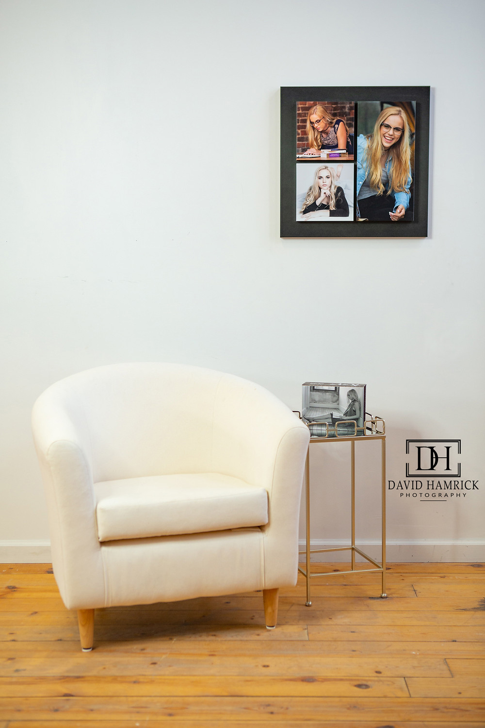 Wall Art and table pieces created by David Hamrick Photography