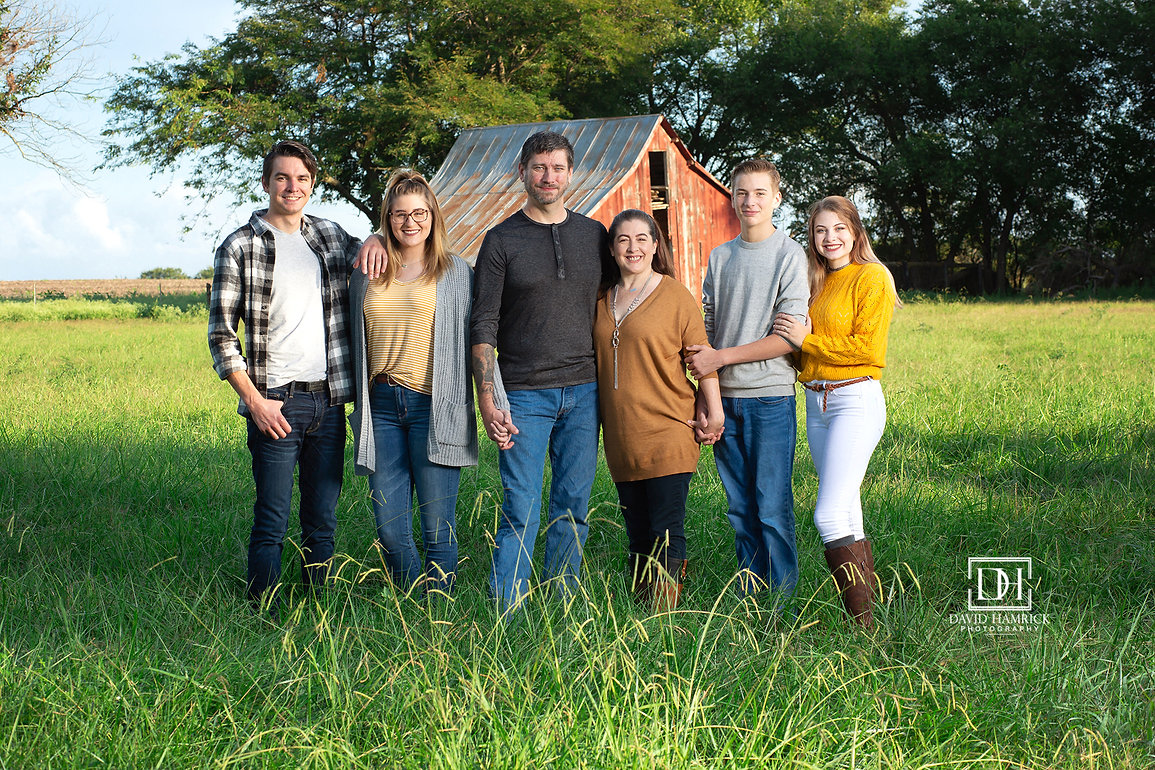 Fall Family Barn Session