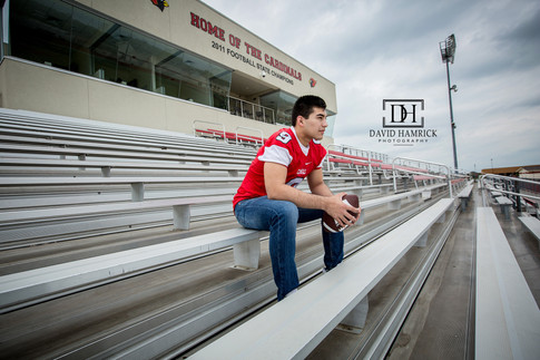 Tommy | Melissa Senior Football