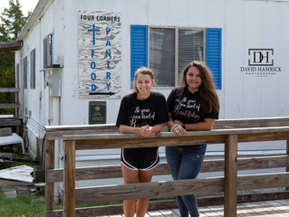 DAVID HAMRICK PHOTOGRAPHY STREET TEAM - HELPING OUT AT THE FOOD PANTRY