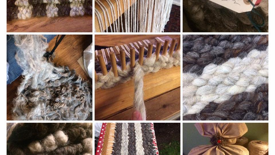 Hand Woven Wool Rugs.