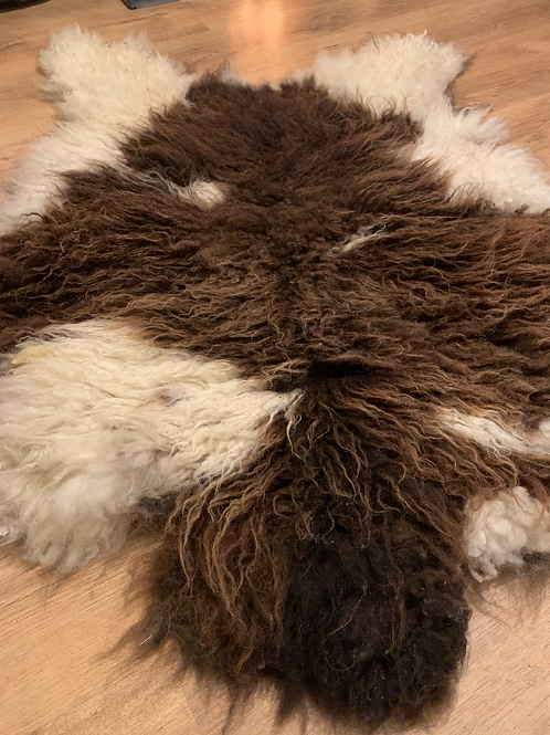 MARBLE Wild Felted Living Wool Sheeprug
