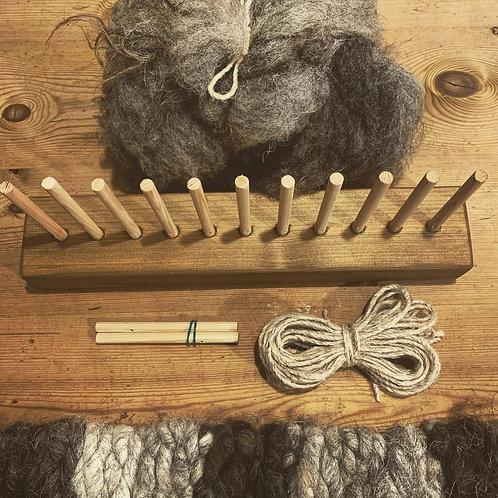 Peg Loom & Wild Wool Sets