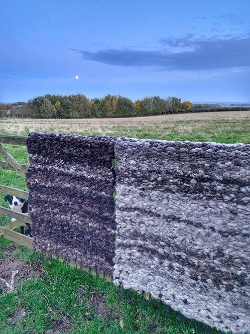 SALT - Wild Woven Wool Rug