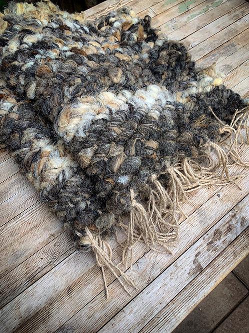 Hand Woven Herdwick x Hebridean Wool Rug