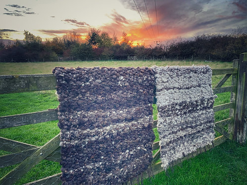 EARTH - Wild Woven Wool Rug