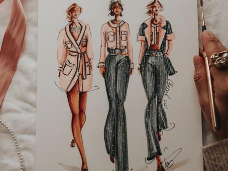 Daily Illustration - Chanel 2021