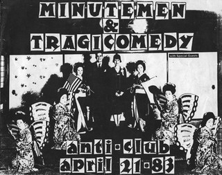 Anti-Club Show Flyer