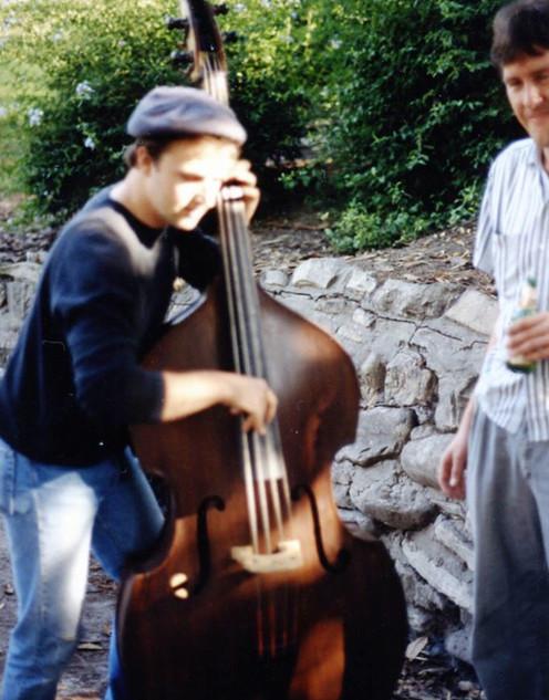 Dirk Jammin' on Bass