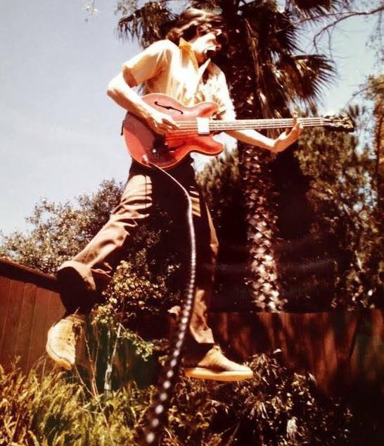 The Levitating Bass Man