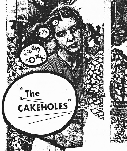 Cakeholes Flyer