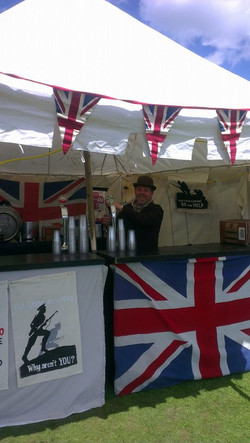 Bespoke Reenactment bars at Wrest