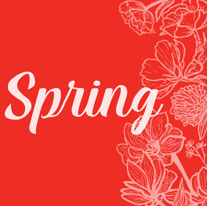 First Day of Spring Social Post