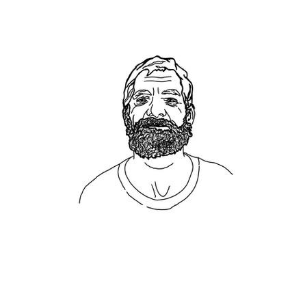 Portrait of a Homeless Veteran