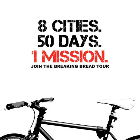 The Breaking Bread Tour Social Post