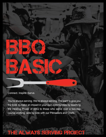 BBQ Basic Series Flyer Front Page