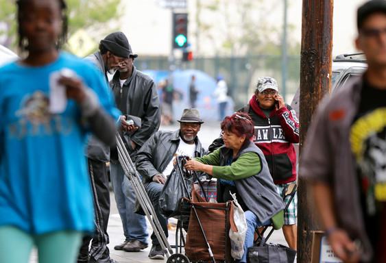 Skid Row, Los Angeles