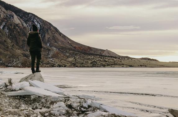 Solo Wyoming Trip - Self Portraits