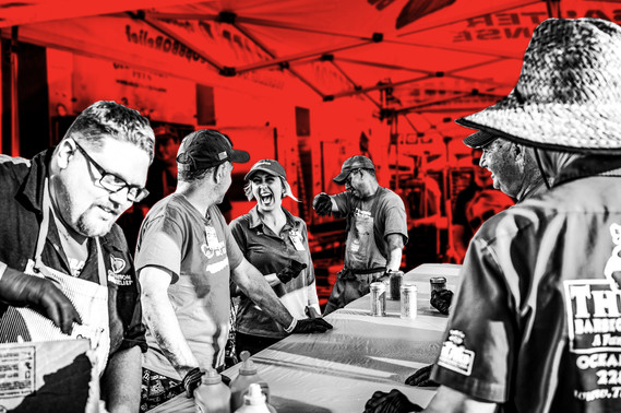 Photo Graphic Edit for Operation BBQ Relief