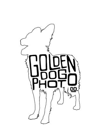 Golden Dog Photo Co Logo
