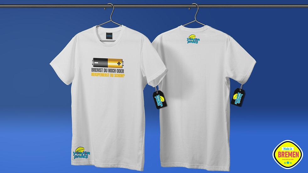 T-Shirt 'Rekuperierst du schon?'