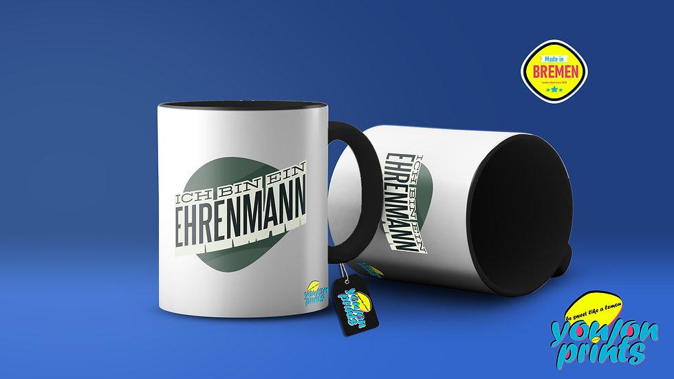 'Ehrenmann' Tassendruck
