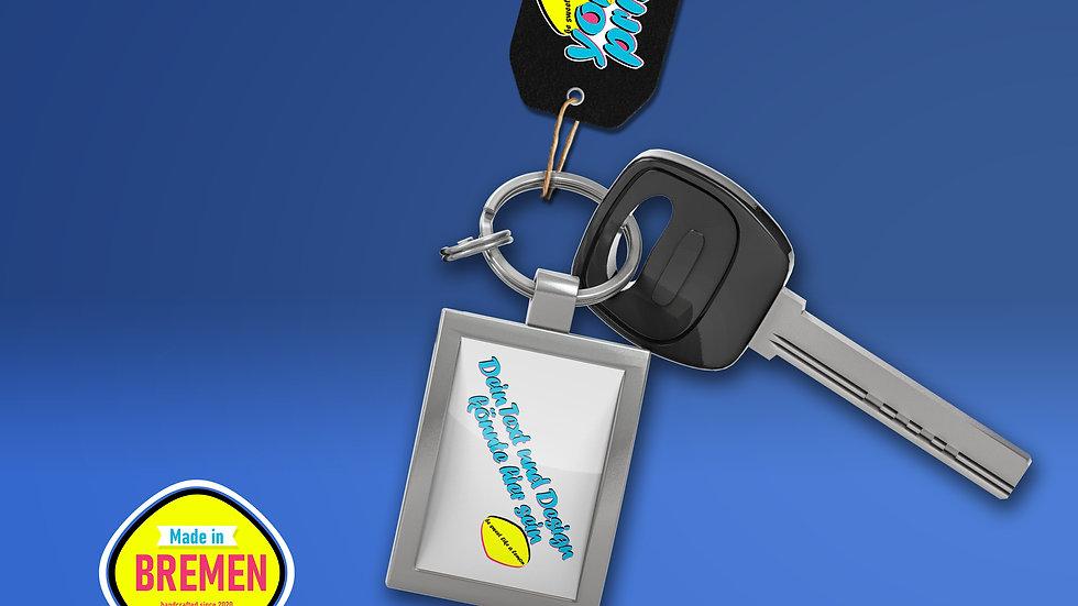 Schlüsselanhänger Metall