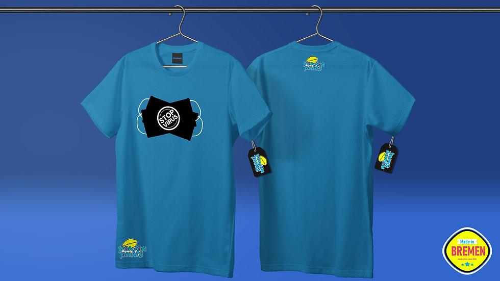 Herren T-Shirt 'StopVirus'