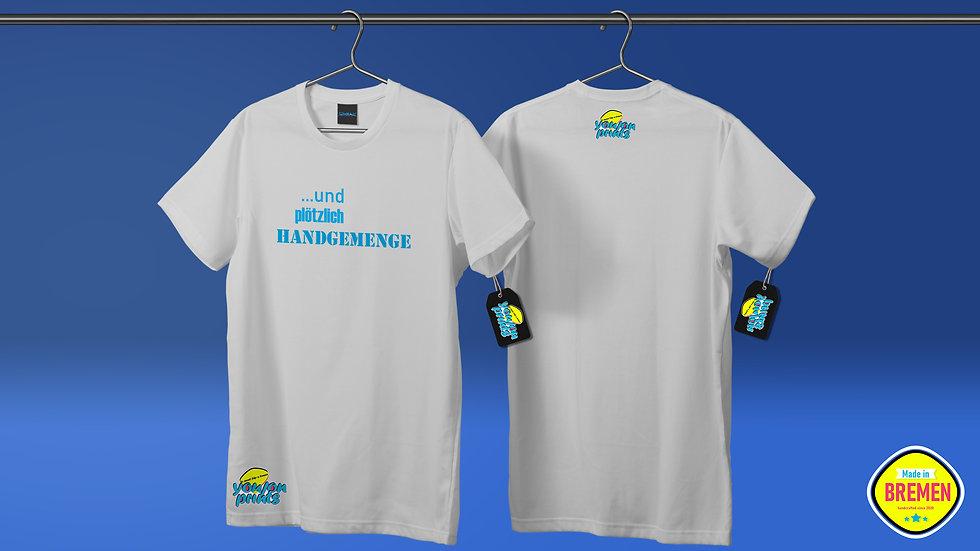 Herren T-Shirt 'Handgemenge'