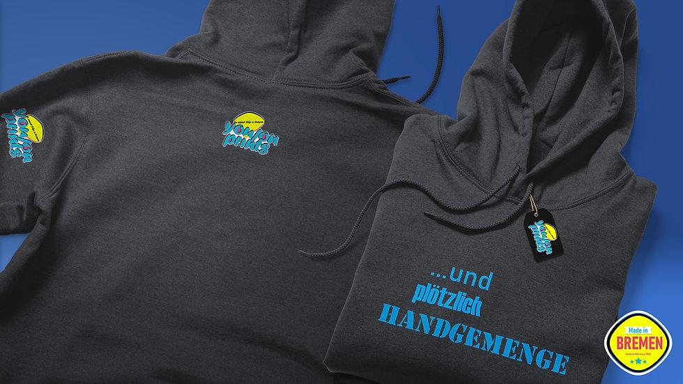 Unisex Kapuzenpullover (Hoodie) 'Handgemenge'