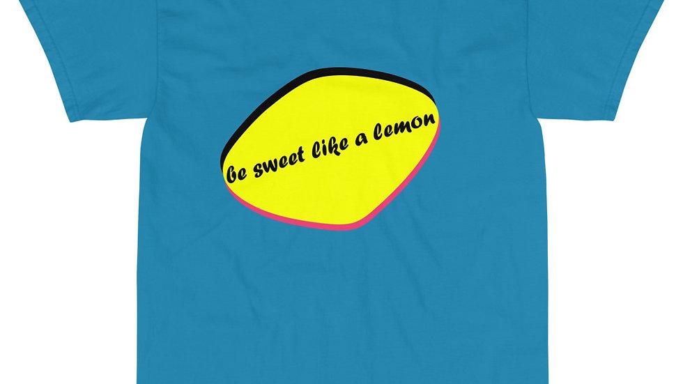 Kurzärmeliges T-shirt be sweet like a lemon