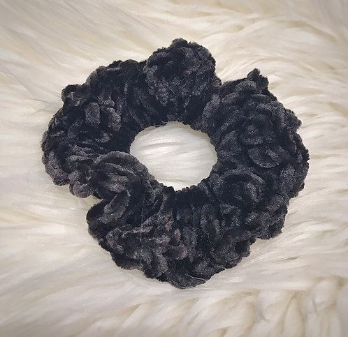 Blackbird - Velvet Scrunchie