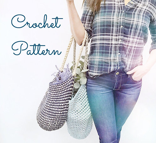Not Your Nonna's Market Bag - Crochet Pattern