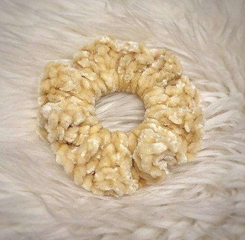 Soft Sunshine - Velvet Scrunchie