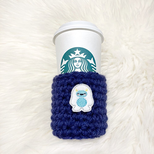 Yeti - Dark Blue Cup cozy