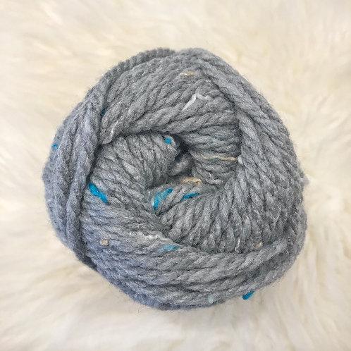Soft Grey Tweed - Bernat Softee Chunky Tweeds
