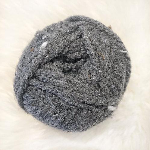 True Grey Tweed - Bernat Softee Chunky Tweeds