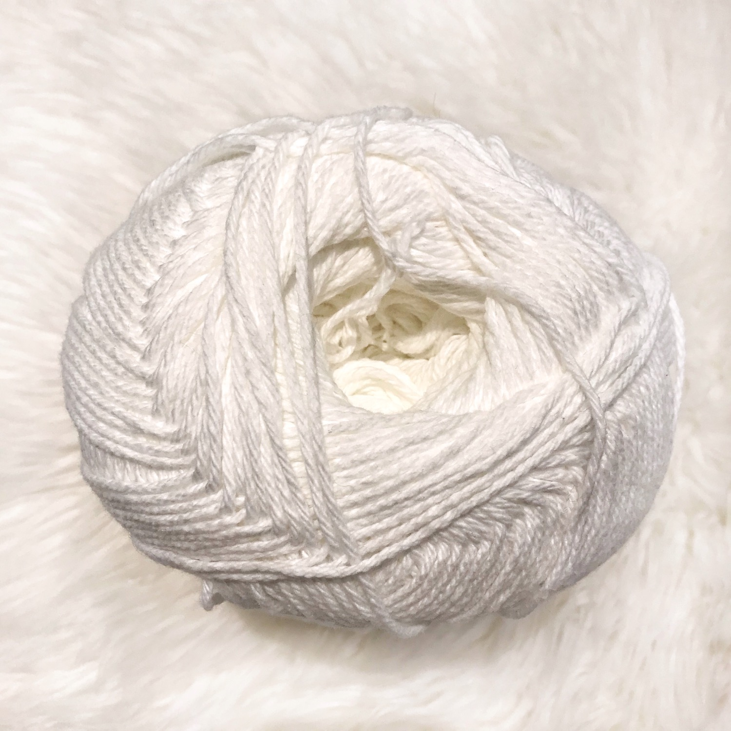 White - Bernat Handicrafter Cotton Big Ball
