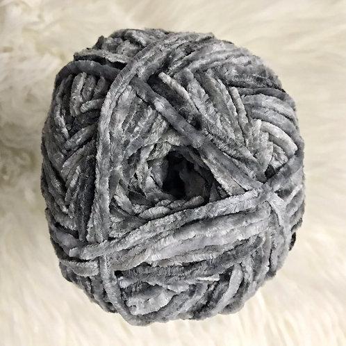 Soft Grey - Bernat Crushed Velvet