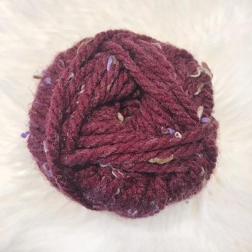 Burgundy Tweed - Bernat Softee Chunky Tweeds