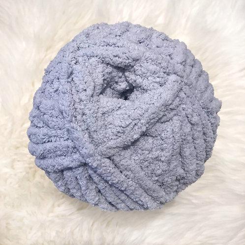 Softened Blue - Bernat Blanket Extra
