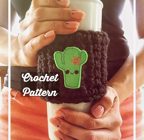 Coffee Cup Cozy - Crochet Pattern