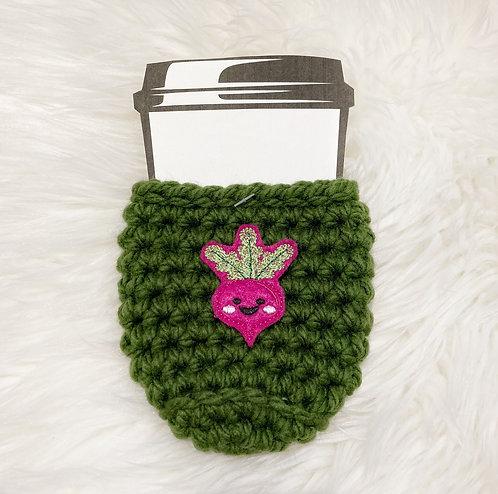 Beet - Green Cup Cozy