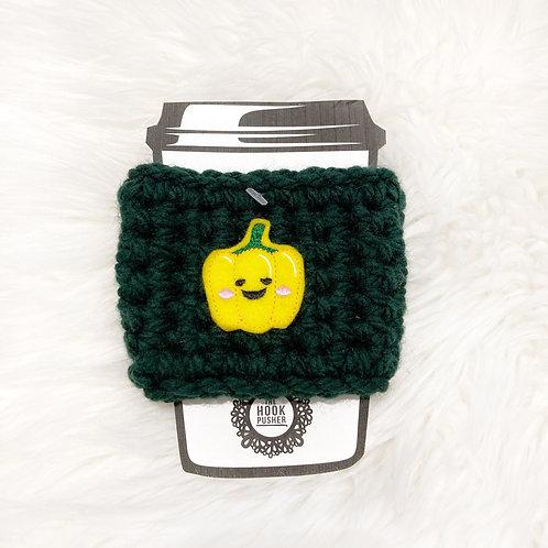 Pepper - Dark Green Cup Cozy